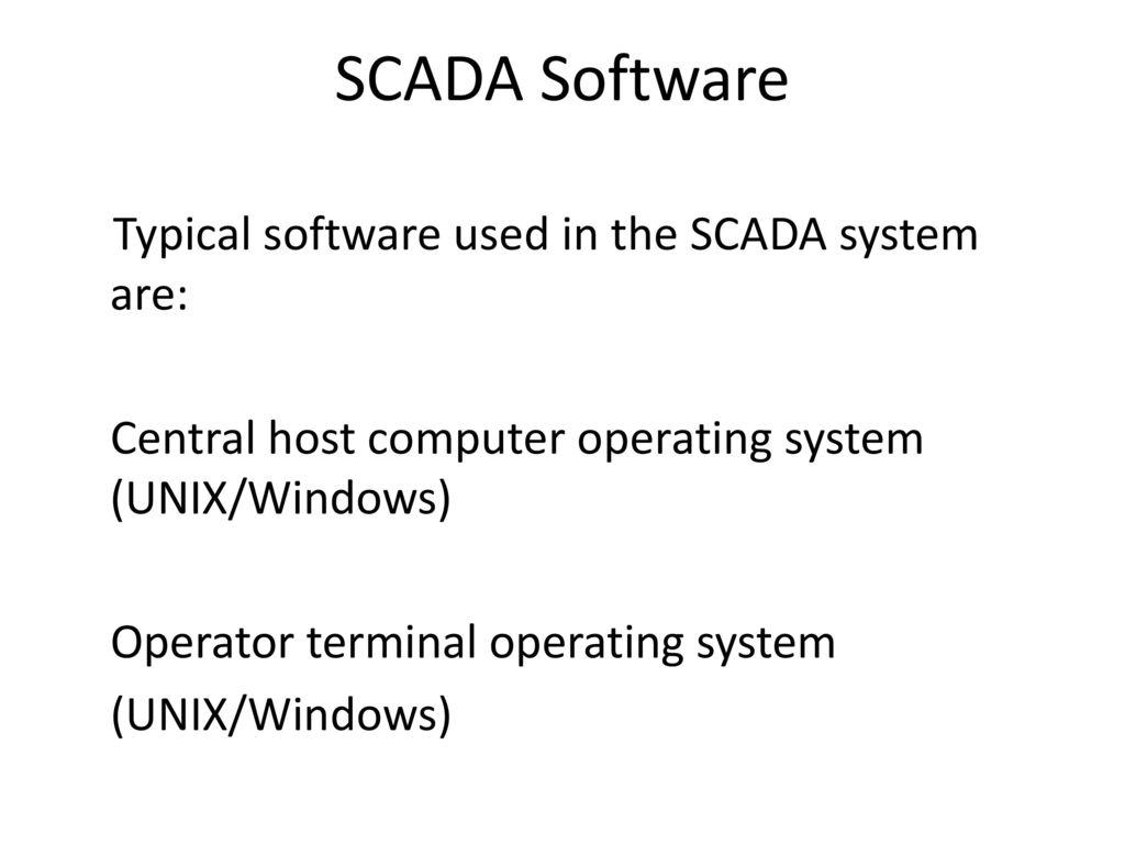 SCADA SCADA TRAINING AJAY K BASU - ppt download