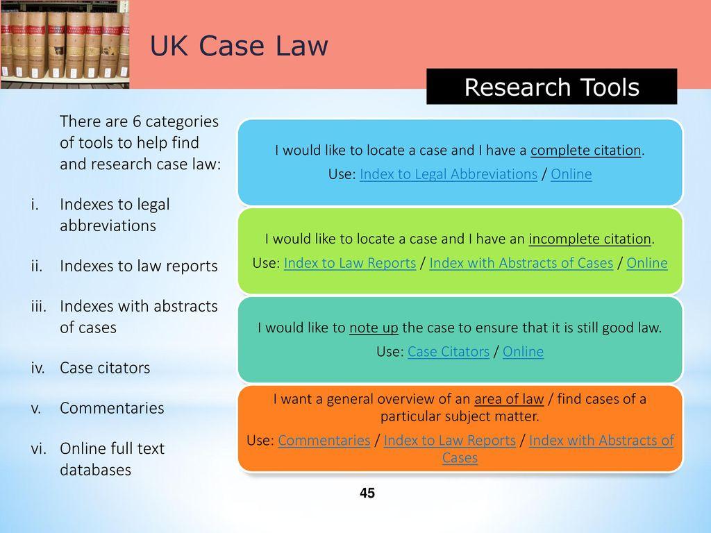 legal citation uk