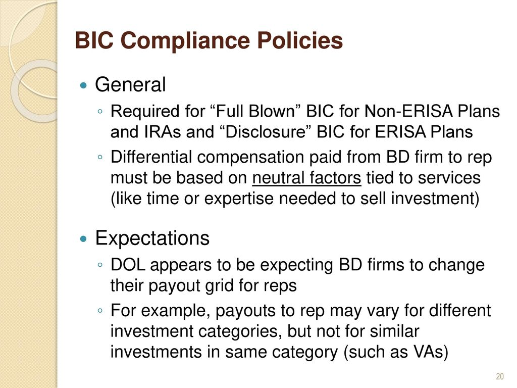 The New Fiduciary Rule: - ppt download