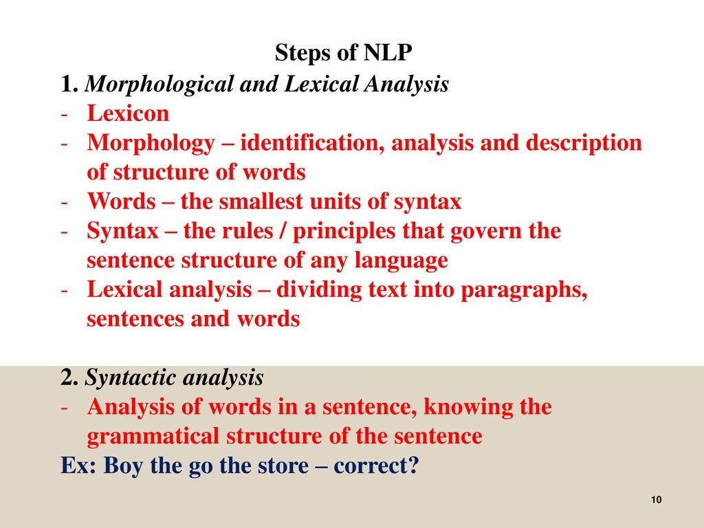 The Semantics and Pragmatics of Natural Language - ppt ...