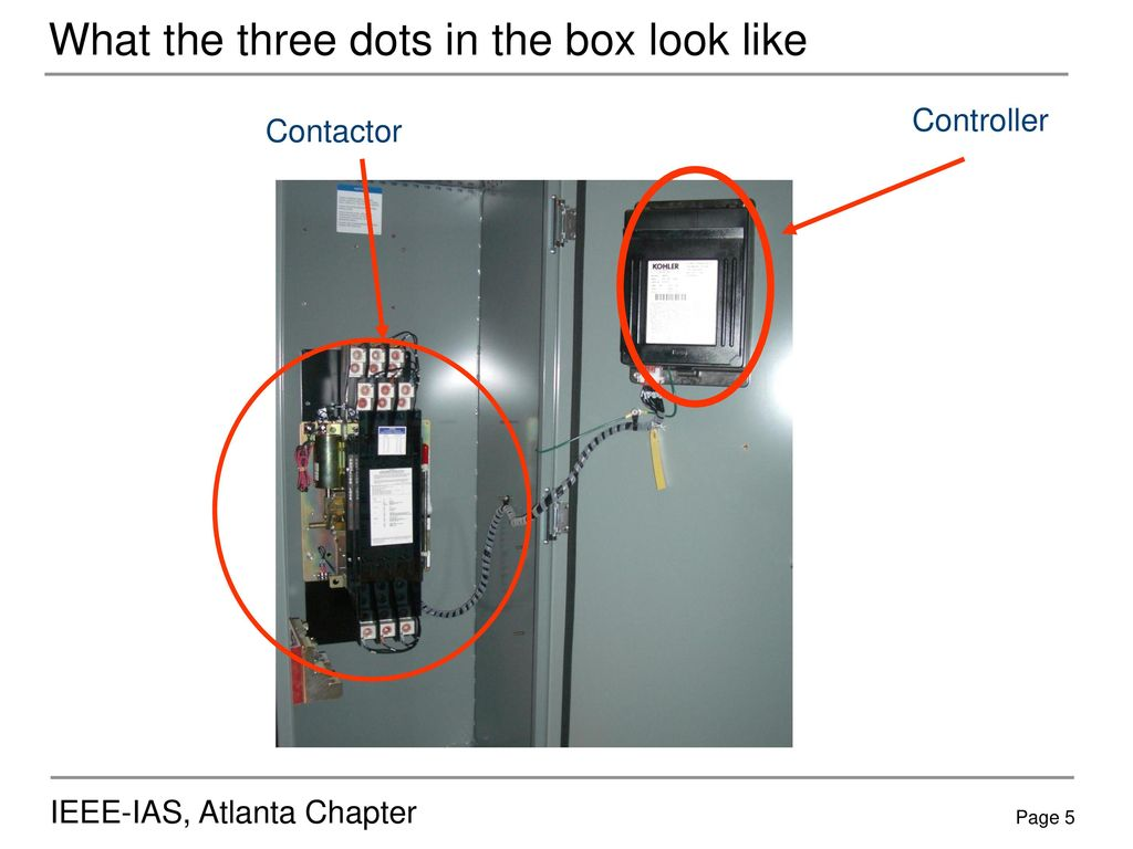 Automatic Transfer Switches Ppt Download Generator Switch Wiring Off Position What The Three Dots In Box Look Like