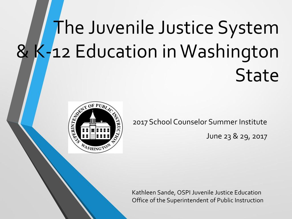 consequences of the juvenile justice system A separate juvenile justice system was established in the united states about 100 years ago with the goal of diverting youthful offenders from the destructive punishments of criminal courts and encouraging rehabilitation based on the individual juvenile's needs.