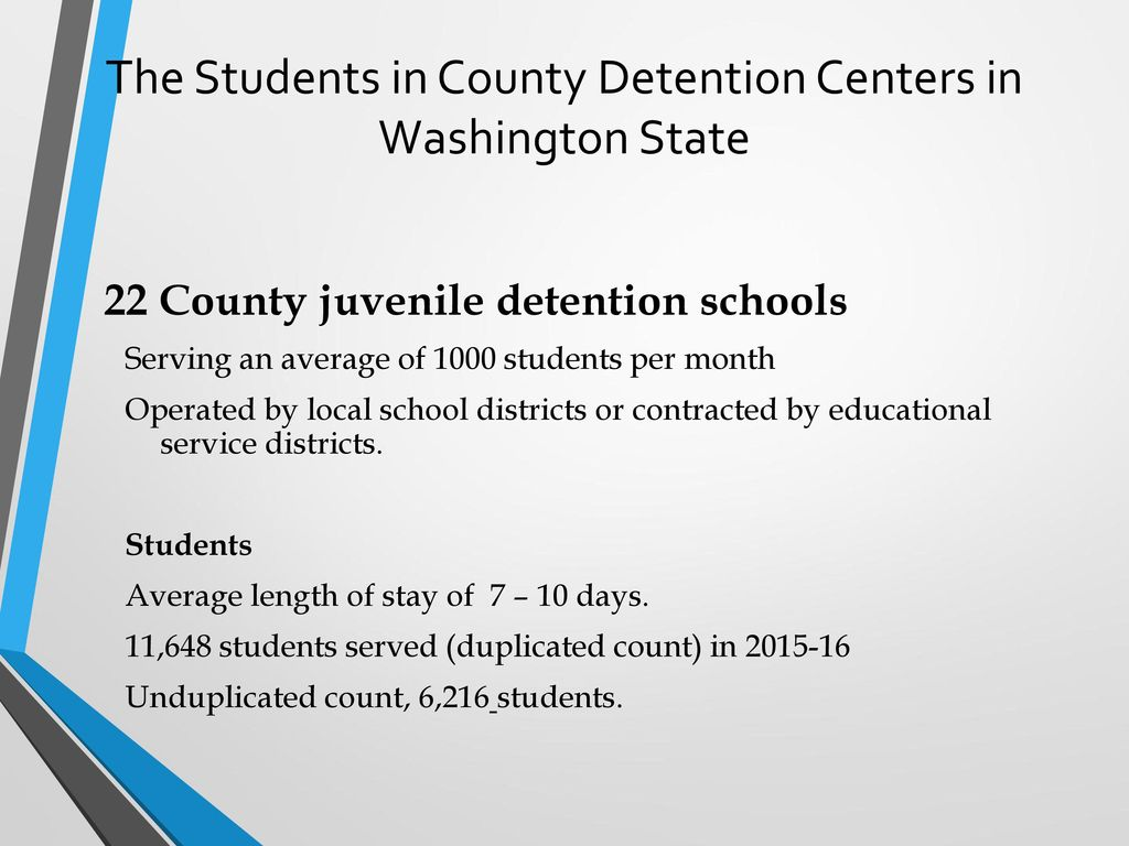 The Juvenile Justice System & K-12 Education in Washington
