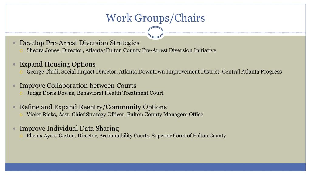 Fulton County Justice & Mental Health Task Force - ppt download