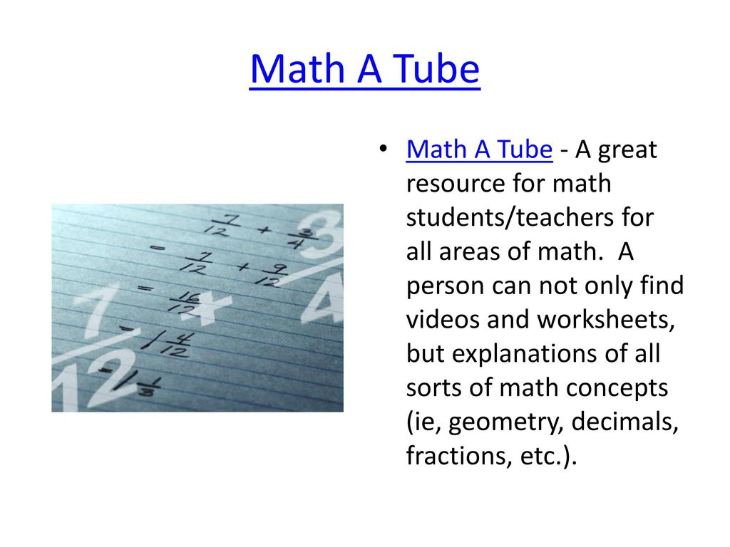 Top 50 Math Sites and Apps Prepared by: Andrea Stapleton Faubion ...