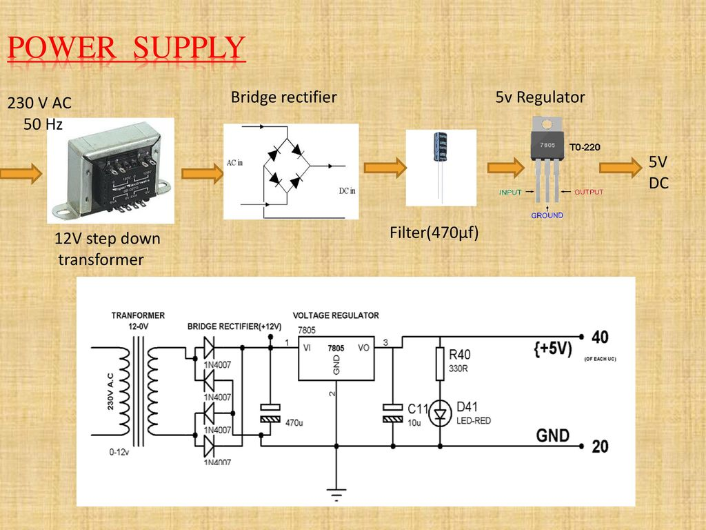 Transformer Health Monitoring Wireless Using Rf Communication Ppt Software For Analysis And Rectifier Circuit Power Supply Bridge 5v Regulator 230 V Ac 50 Hz Dc