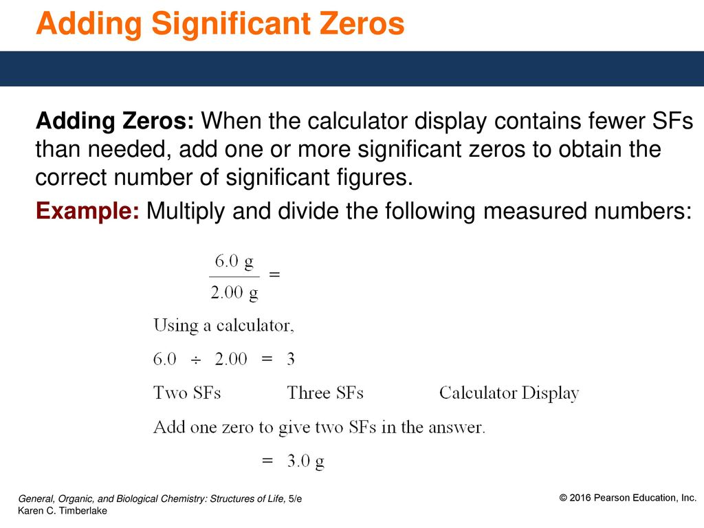 2.3 Significant Figures in Calculations - ppt download