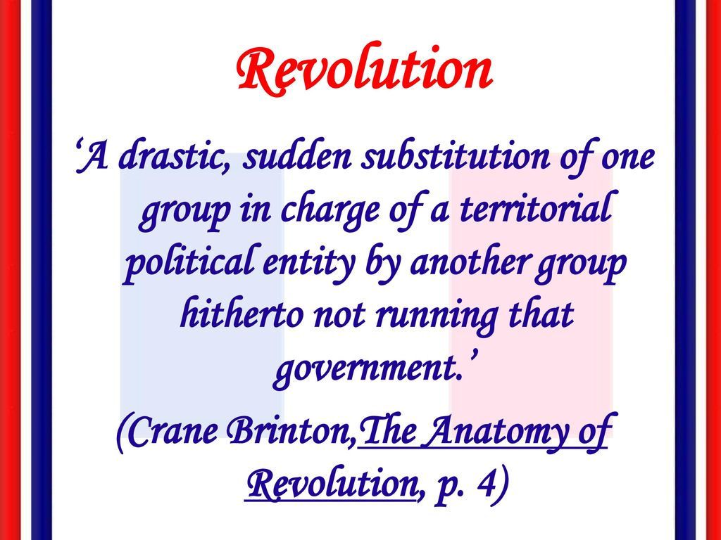 What Is A Revolution Ppt Download