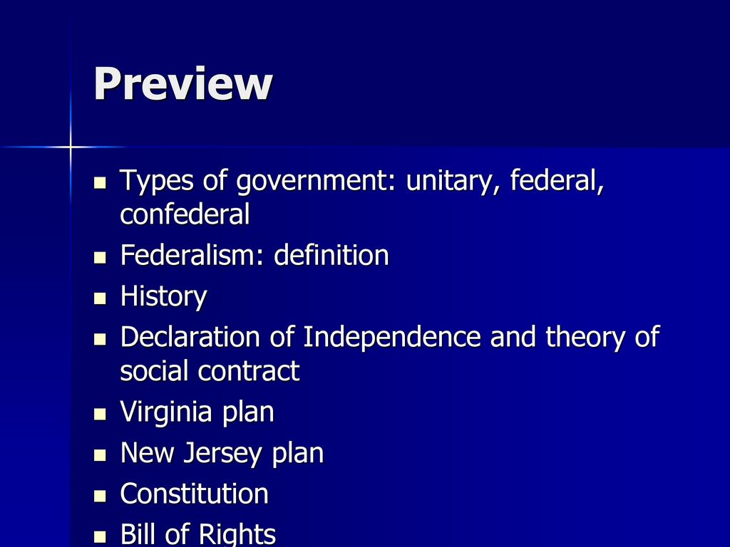 the nature and sources of american federalism - ppt download