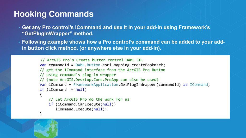 ArcGIS Pro SDK for  NET: UI Design and MVVM - ppt download