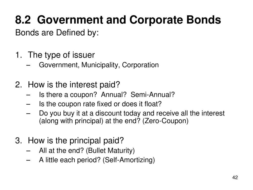 interest rates and bond valuation - ppt download