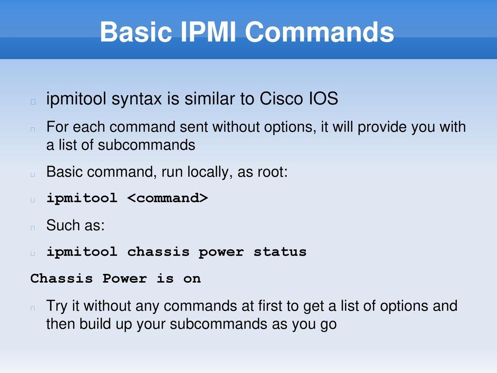 Ipmitool Remove User