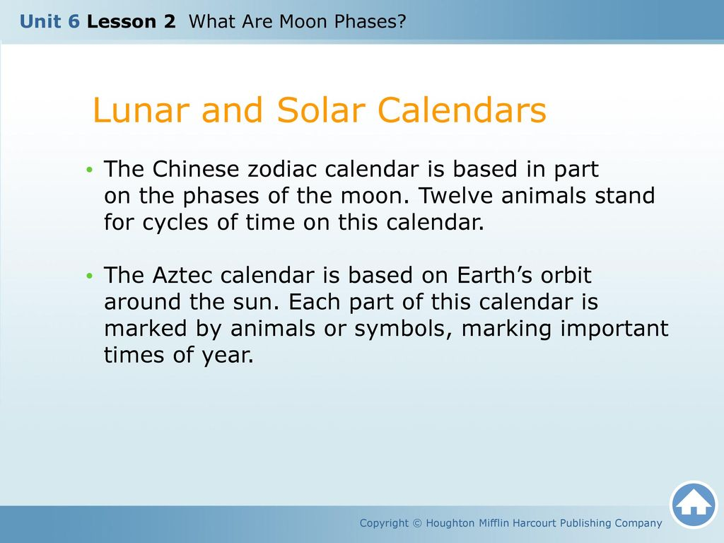 Unit 6 Lesson 2 What Are Moon Phases Ppt Download