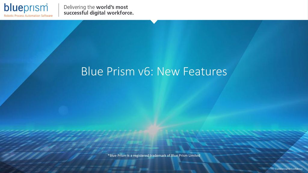 Blue Prism v6  - ppt download