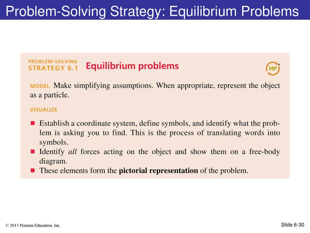 Chapter 6 Lecture Ppt Download Free Body Diagram Form A And Solve Problem Solving Strategy Equilibrium Problems