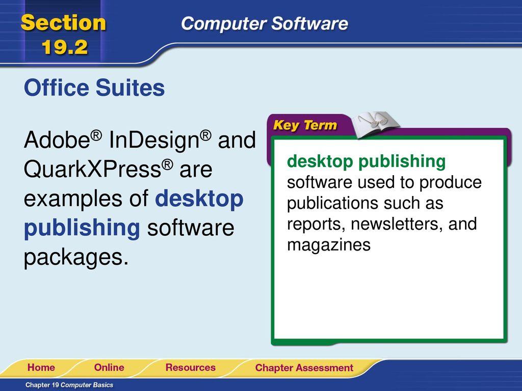 Quarkxpress is an example of   QuarkXPress 2018  2019-06-05