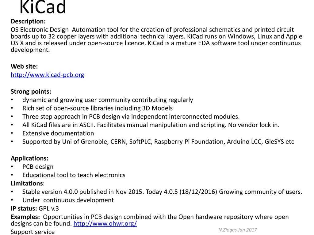 Examples Of Cern Ict Technologies Ppt Download Open Source Pcb Design Software 5 Kicad Description Os Electronic