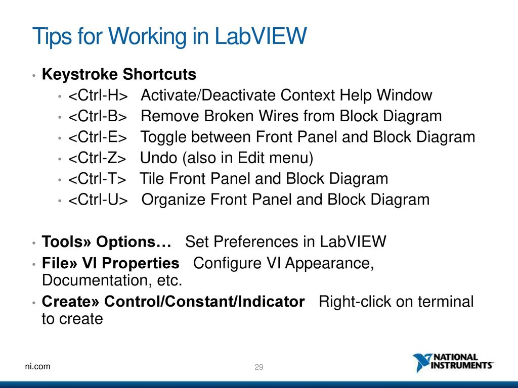 Ni Labview An Introduction To A Graphical System Design Environment Windows 7 Block Diagram 22 What