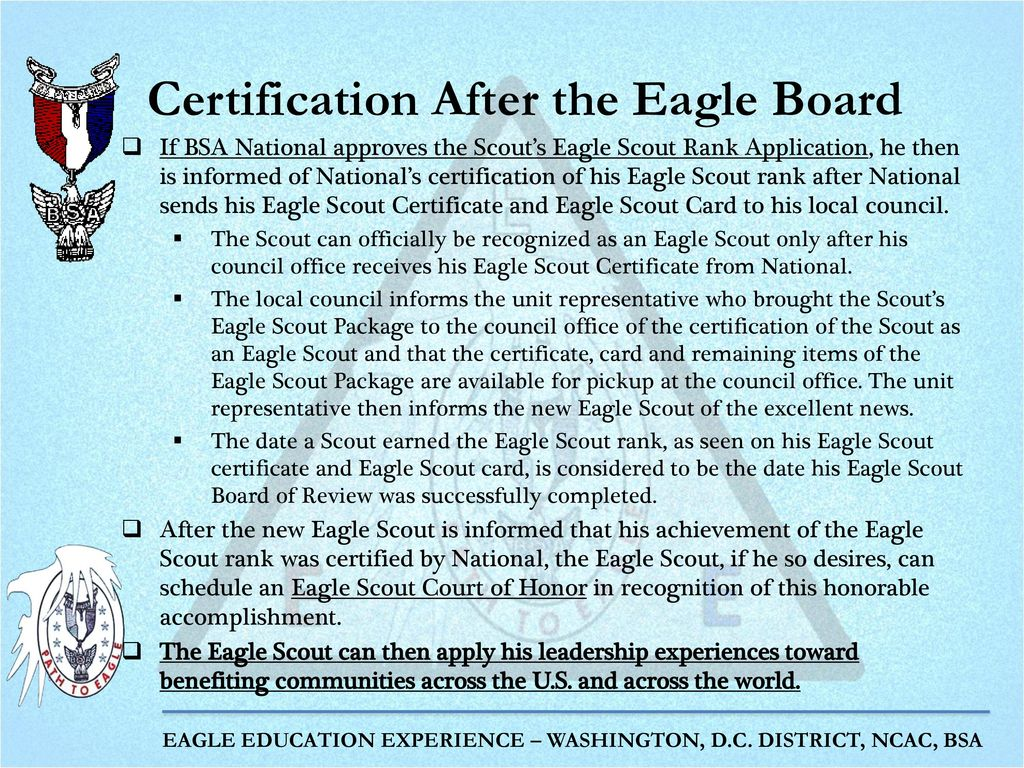 The Eagle Scout Board Of Review Ppt Download