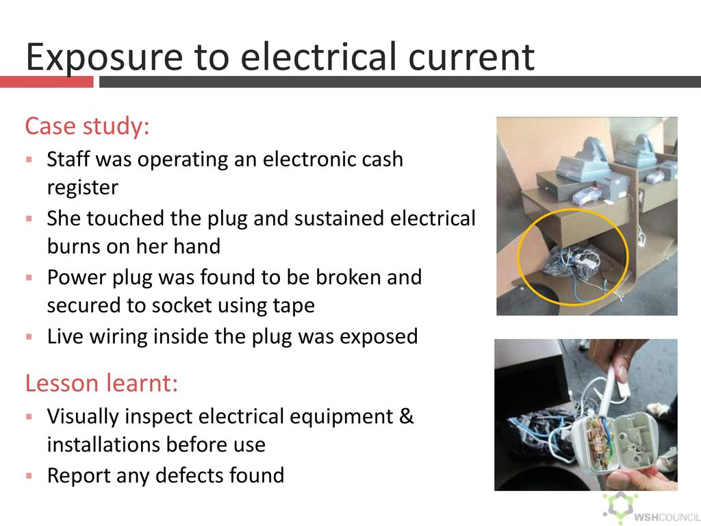 Common Hazards In The Hospitality Entertainment Industry Ppt Wiring A Plug Lesson 29 Exposure To Electrical Current