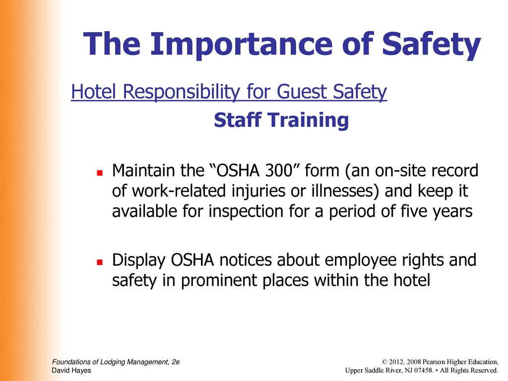 Chapter 13 Safety and Security  Chapter 13 Safety and