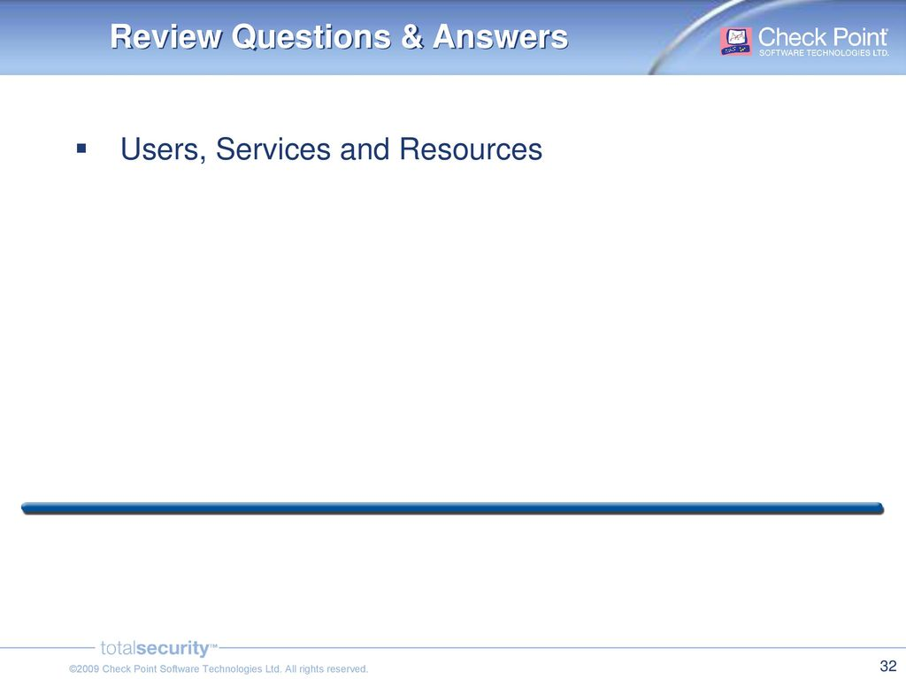 Review Questions & Answers