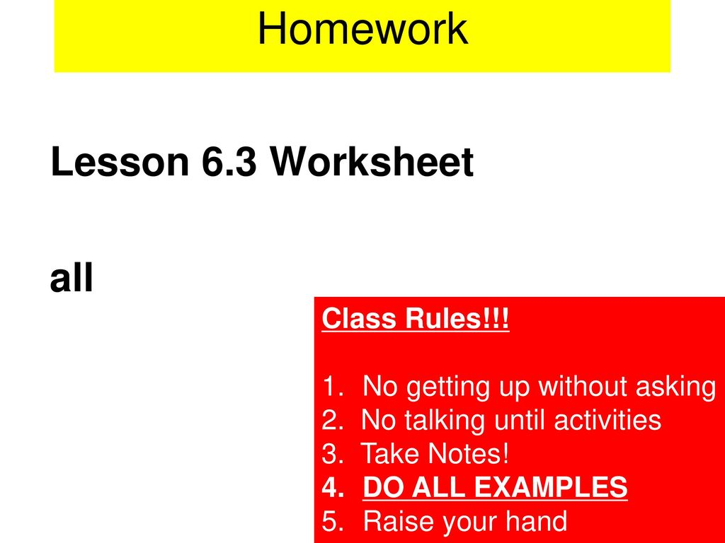 Worksheets Simplify Each Expression Worksheet lesson 6 4 course 3 simplify each expression homework worksheet all class rules