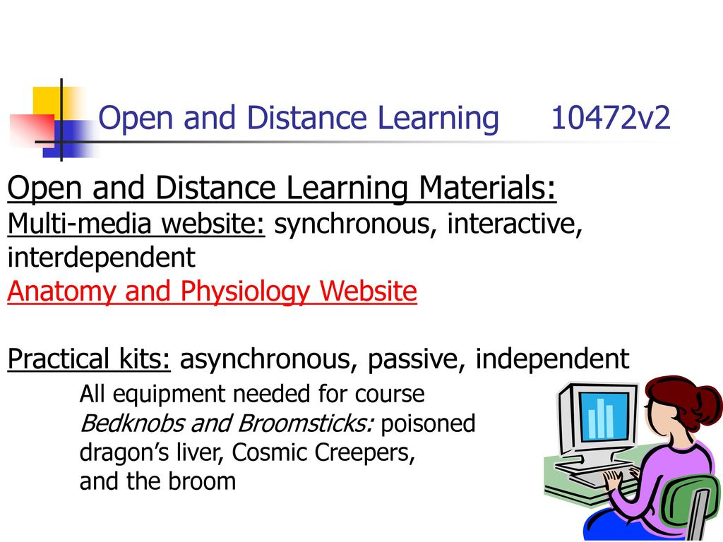 Open and Distance Learning 10472v2 - ppt download