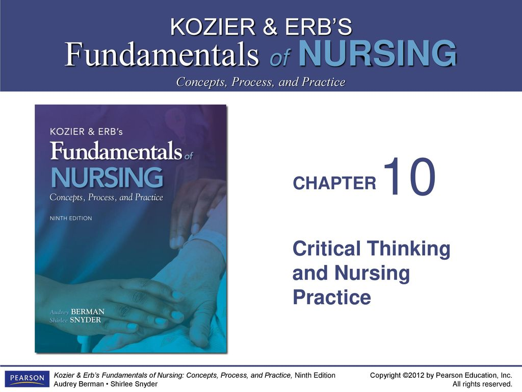 connection between critical thinking nursing practice and scholarship Nursing has become an all-graduate profession as such, student nurses must develop their skills of critical analysis the need to develop critical analytical thinking has been identified as the single most important skill in undergraduate education and reaching the academic requirements of level six study.