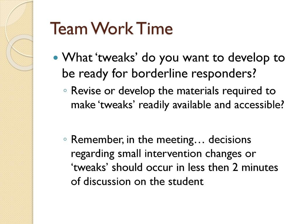 Data Teaming - Tier 2+ Individual Student Behavior Support - ppt