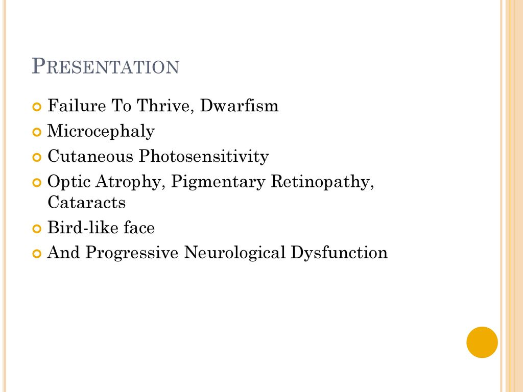 Cockayne Syndrome Type 2
