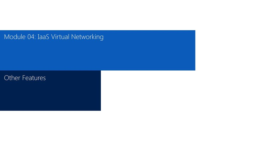 Microsoft Azure: Infrastructure as a Service (IaaS) - ppt download