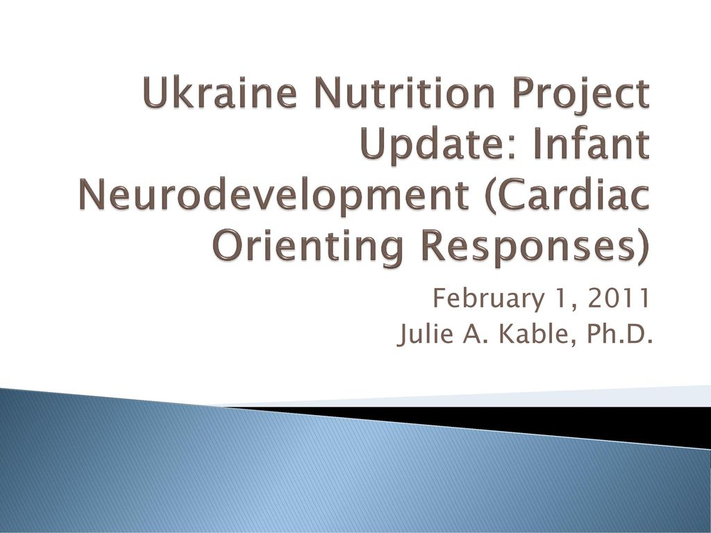 February 1, 2011 Julie A  Kable, Ph D  - ppt download