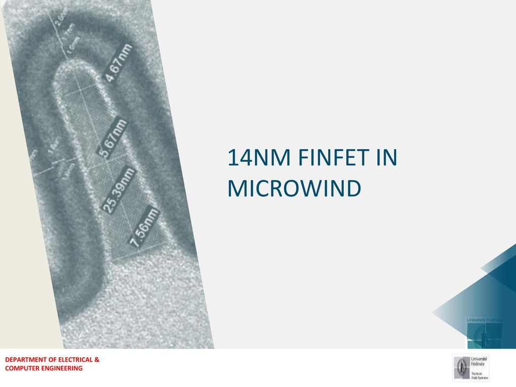 14nm Finfet In Microwind Ppt Download Simulation Of The Circuit 1