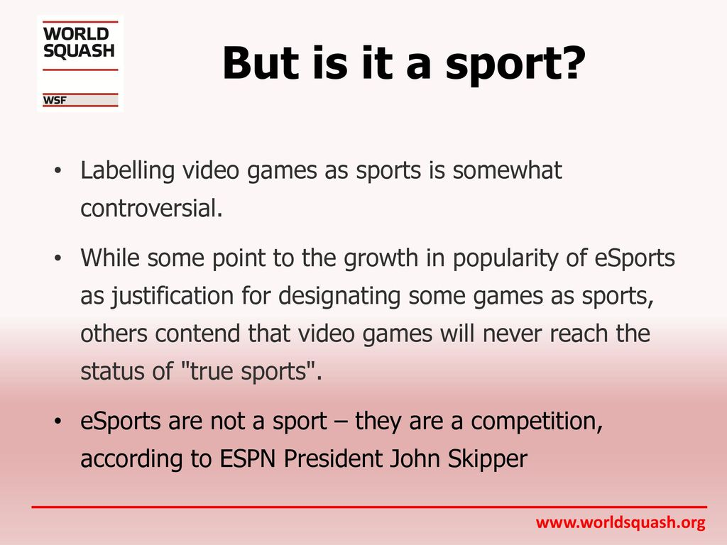 ESports  - ppt download