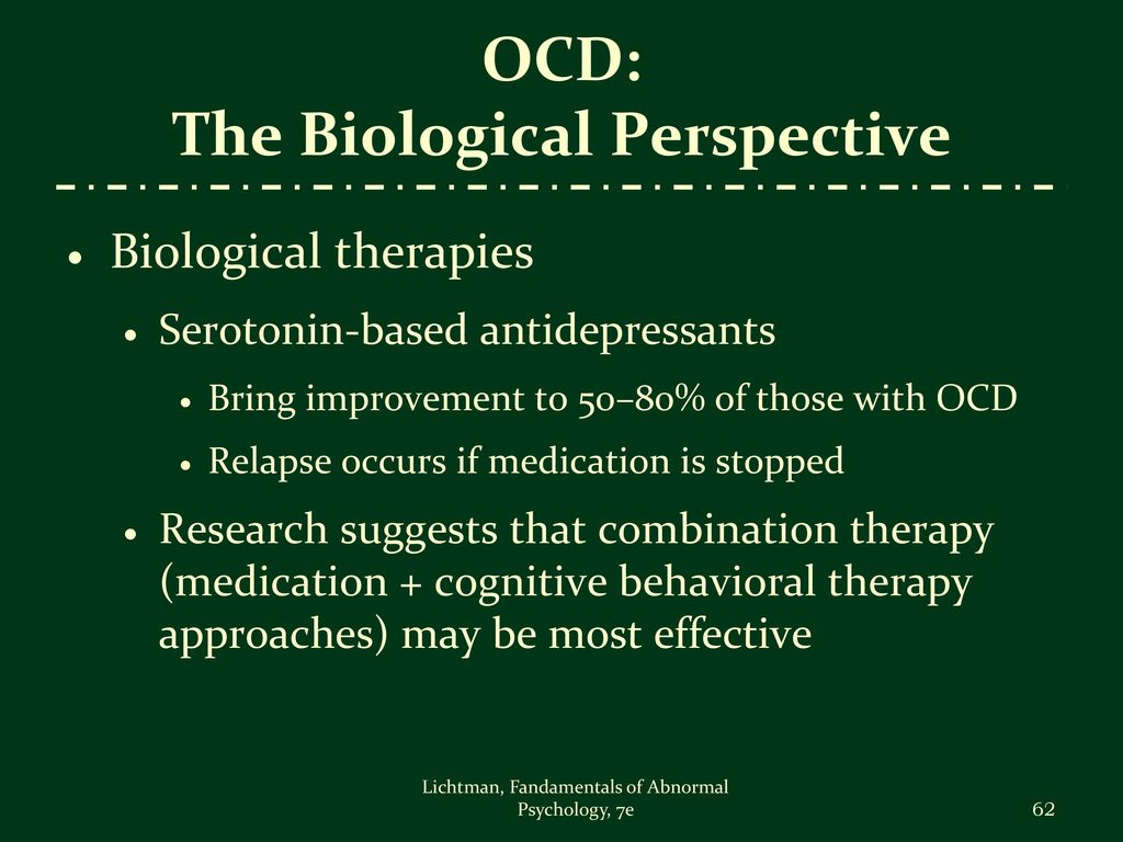 humanistic therapy for ocd