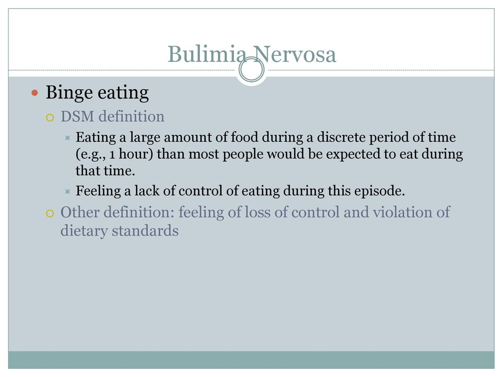 eating disorders. - ppt download