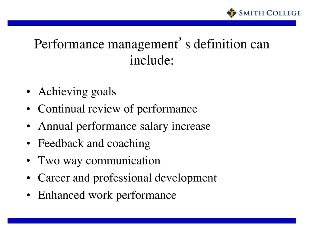 performance management - ppt download