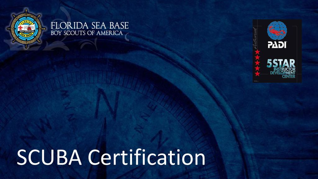 Scuba Certification Ppt Download