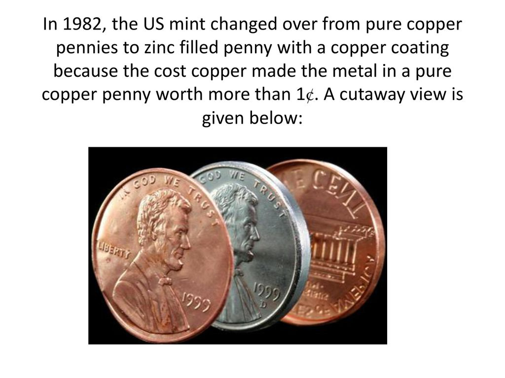 How does the Mass of a Penny Change with Age? - ppt download