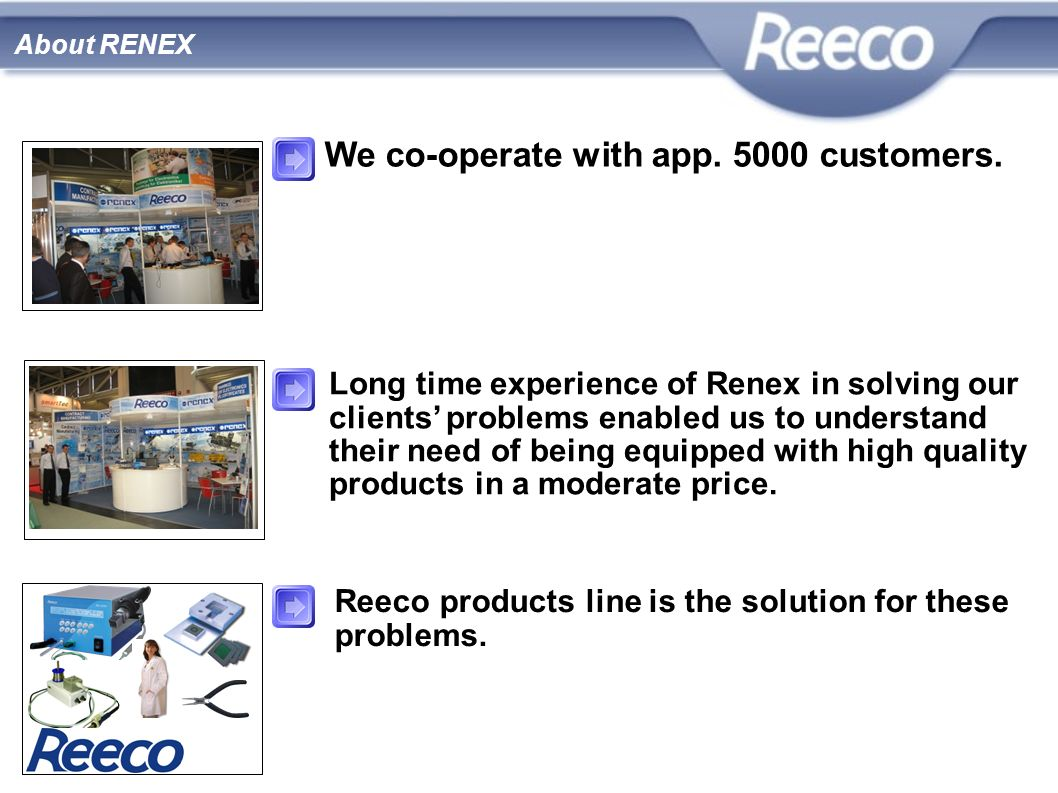 We co-operate with app customers.