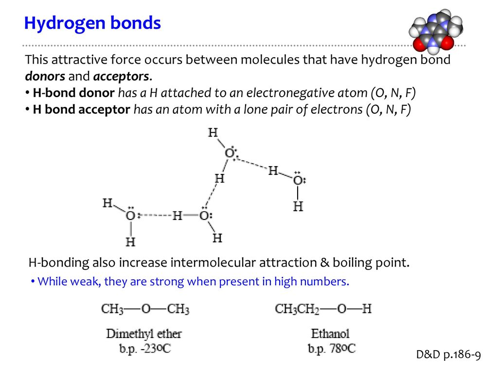 CHE2060 4: Physical properties & interactions - ppt download
