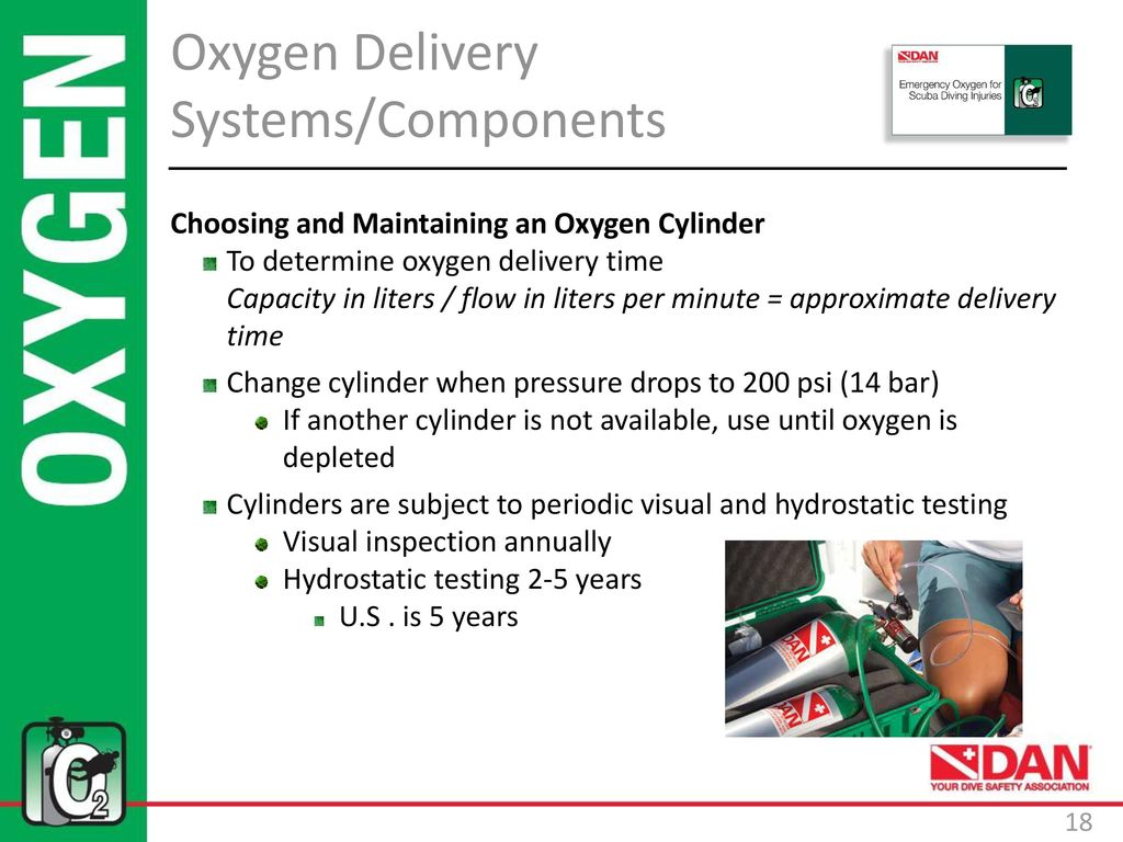 Emergency Oxygen for Scuba Diving Injuries - ppt download