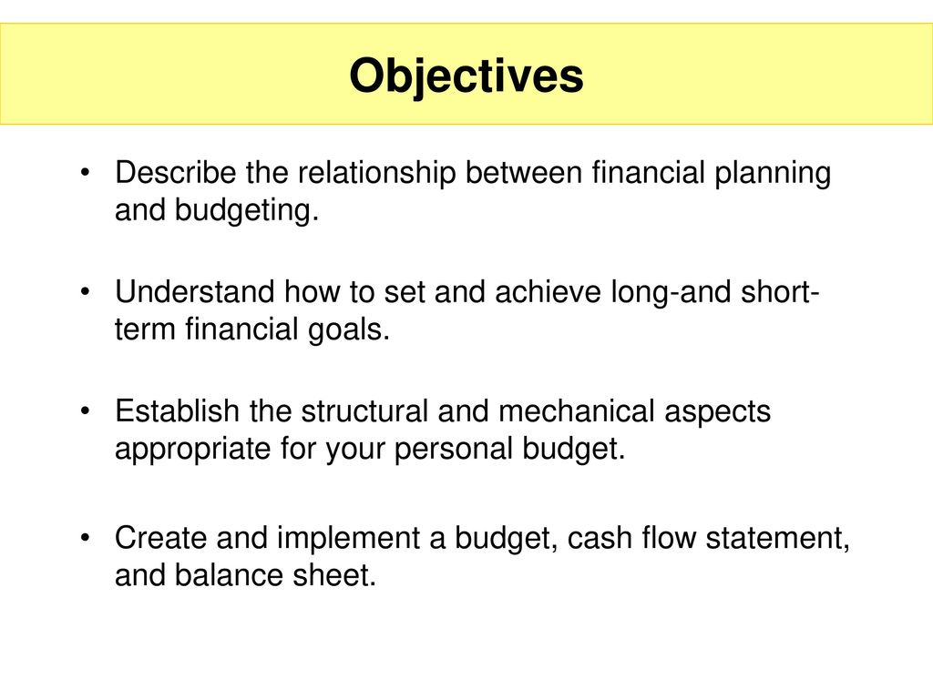 budgeting and cash flow management ppt download