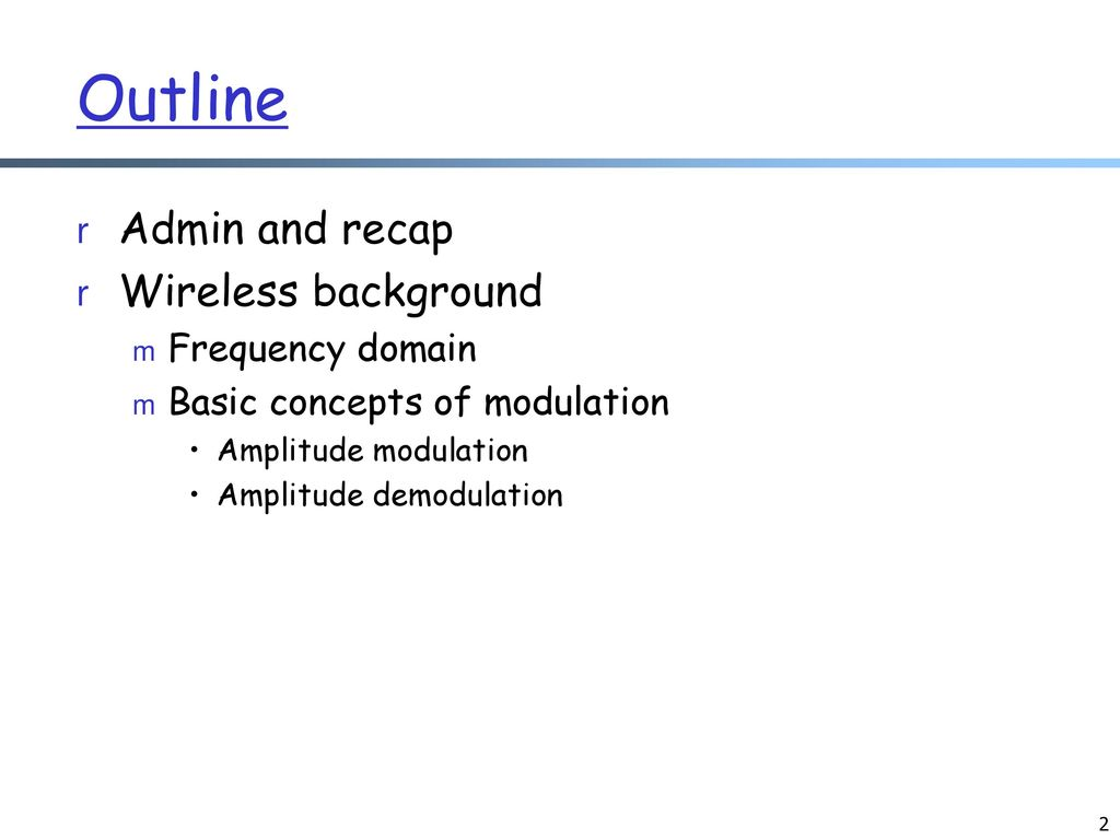CS434/534: Topics in Networked (Networking) Systems Wireless