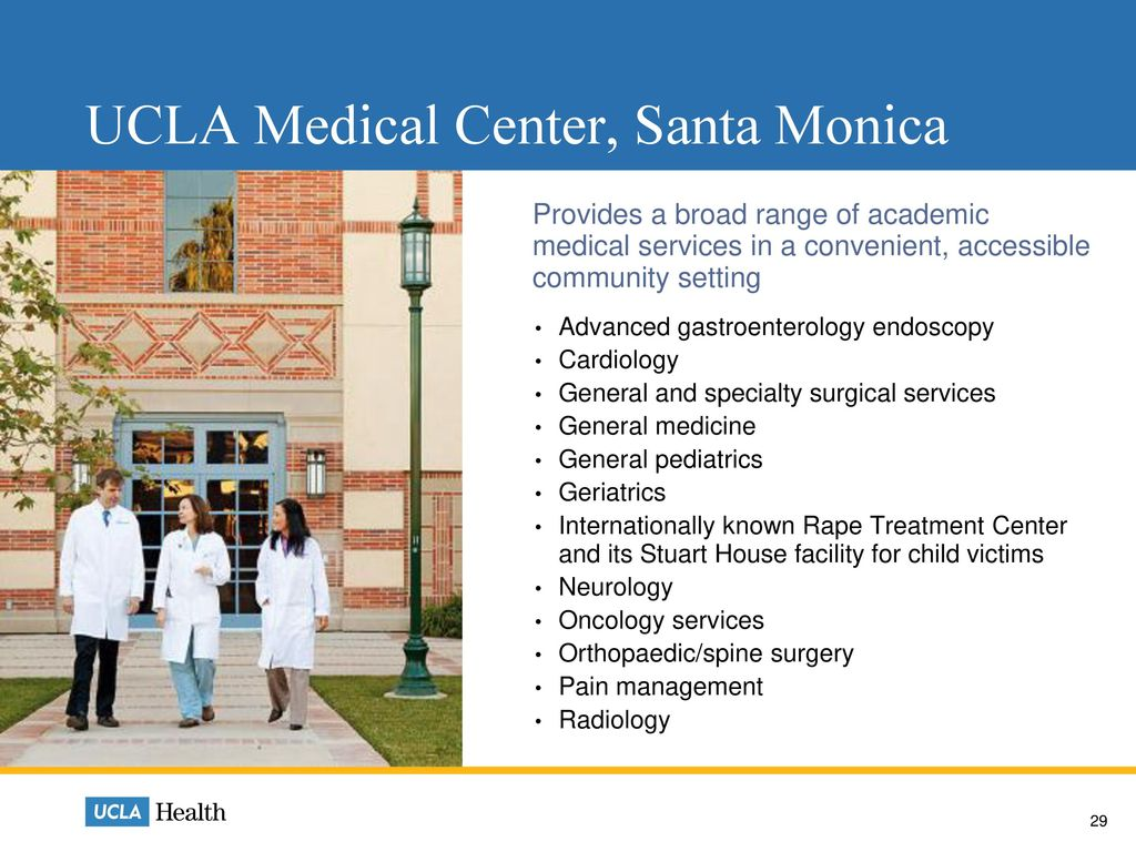 Who We Are  Who We Are UCLA Health Physician Practices and