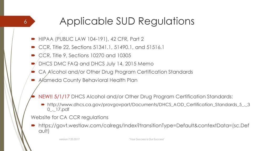 Substance Use Disorder (SUD) Documentation Training July 20, ppt ...