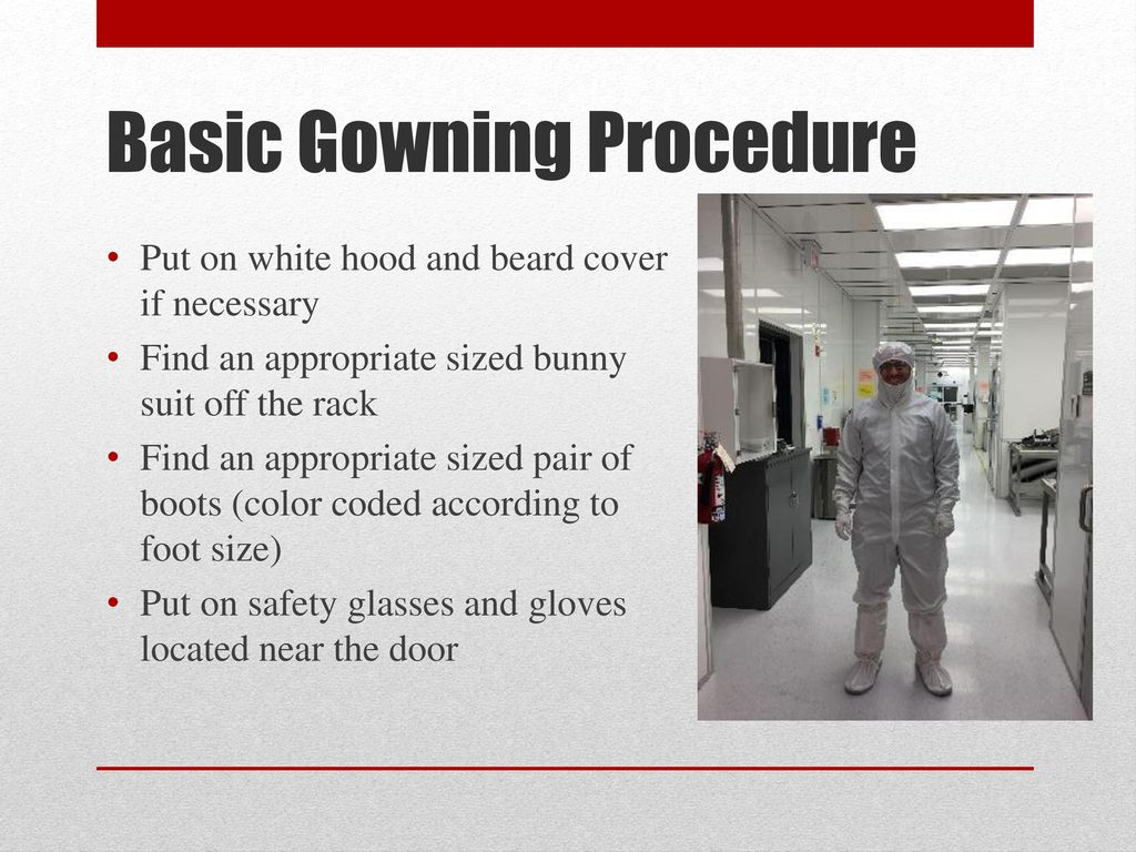 Micro/Nano Technology Center Orientation and Safety Training - ppt ...