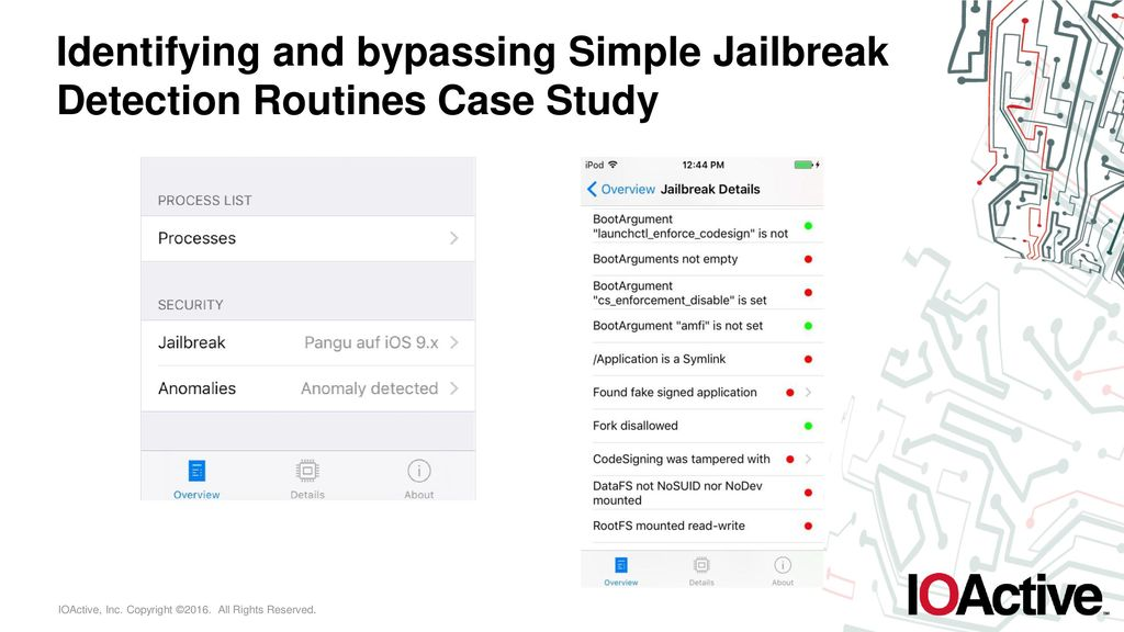 Remove Jailbreak Detection