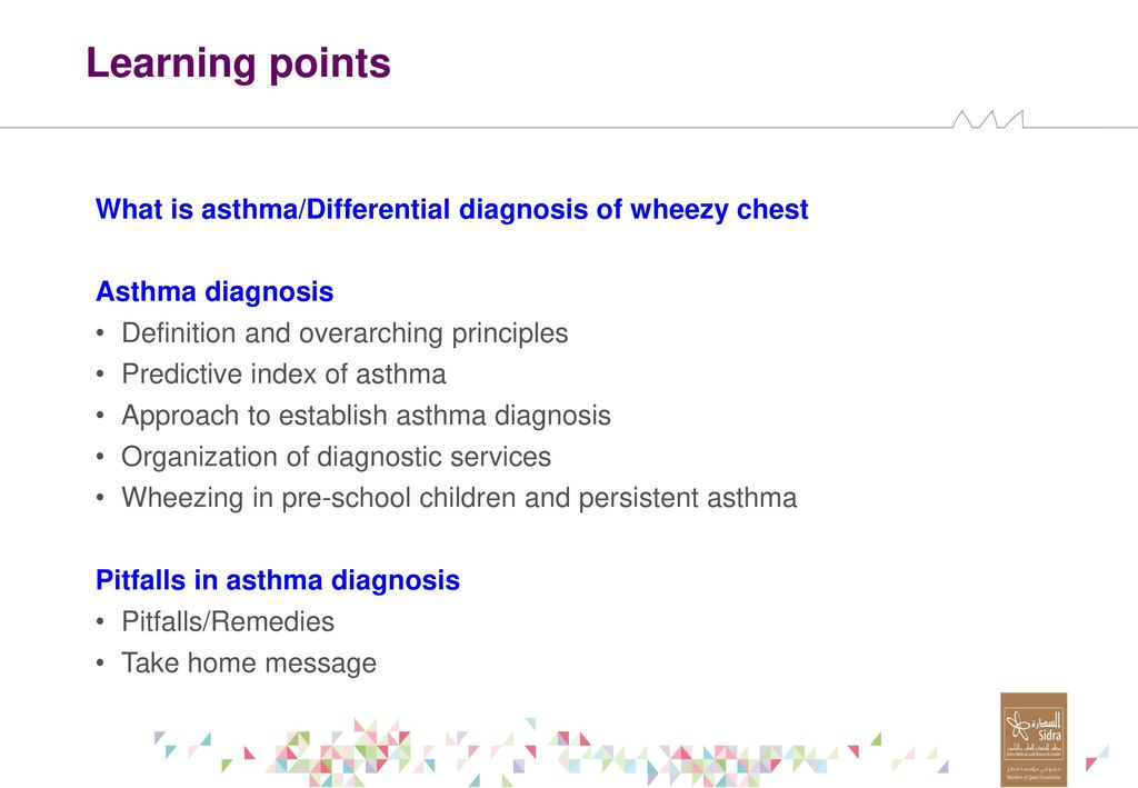 Diagnostic Pitfalls In Pediatric Bronchial Asthma Ppt Download